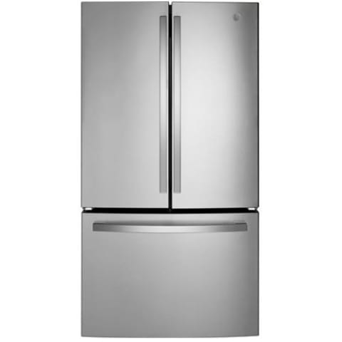 GE® ENERGY STAR® 27.0 Cu. Ft. Fingerprint Resistant French-Door Refrigerator - GNE27JYMFS