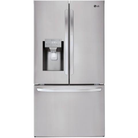 LG 26 Cu. Ft. Smart Wi-Fi Enabled French Door Refrigerator - LFXS26973S