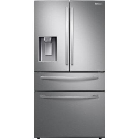 Samsung 28 Cu. Ft. 4-Door French Door Refrigerator w/ FlexZone™ Drawer - RF28R7201SR