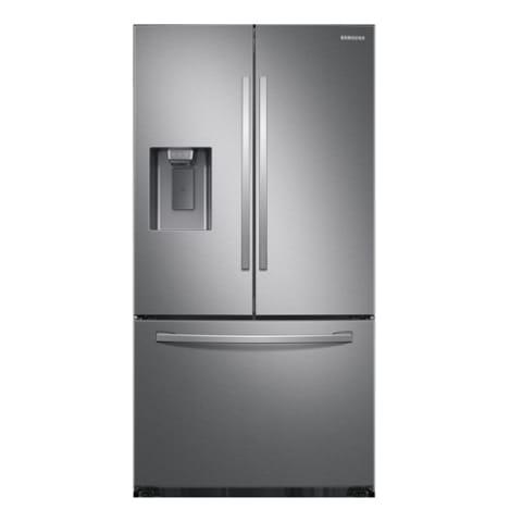 Samsung 27 cu. ft. French Door Refrigerator w/ External Water & Ice - RF27T5201SR