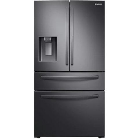 Samsung 28 Cu. Ft. 4-Door French Door Refrigerator w/ Food Showcase - RF28R7351SG