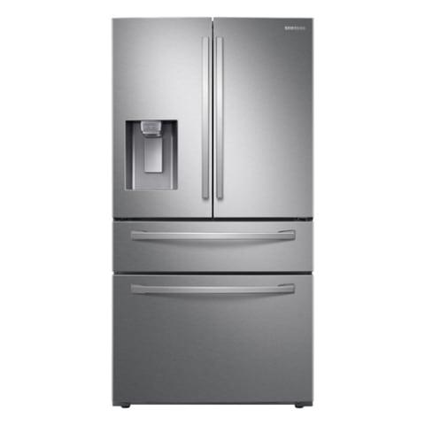 Samsung 27.8 cu. ft. 4-Door French Door Refrigerator - RF28R7351SR