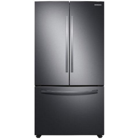 28 cu. ft. Large Capacity 3-Door French Door Refrigerator w/ AutoFill Water Pitcher - RF28T5021SG