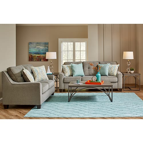 Ethan Collection 2PC Sofa & Loveseat