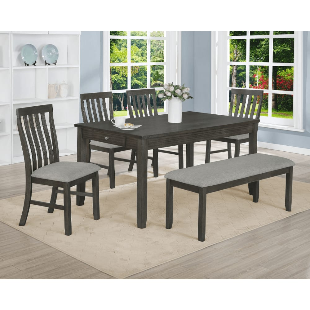 Julian Collection Grey Dining Table