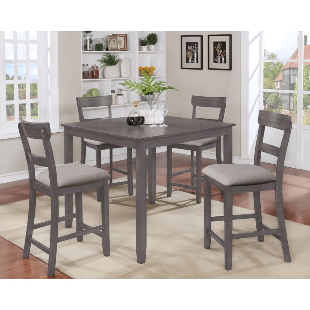 Henderson Collection Counter Height 5pc Dinette Set