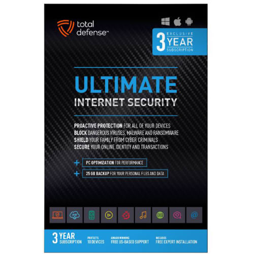Ultimate 3YR Internet Security Software