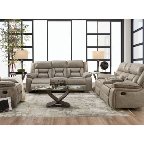 Maxwell Collection 2PC Sofa & Reclining Loveseat