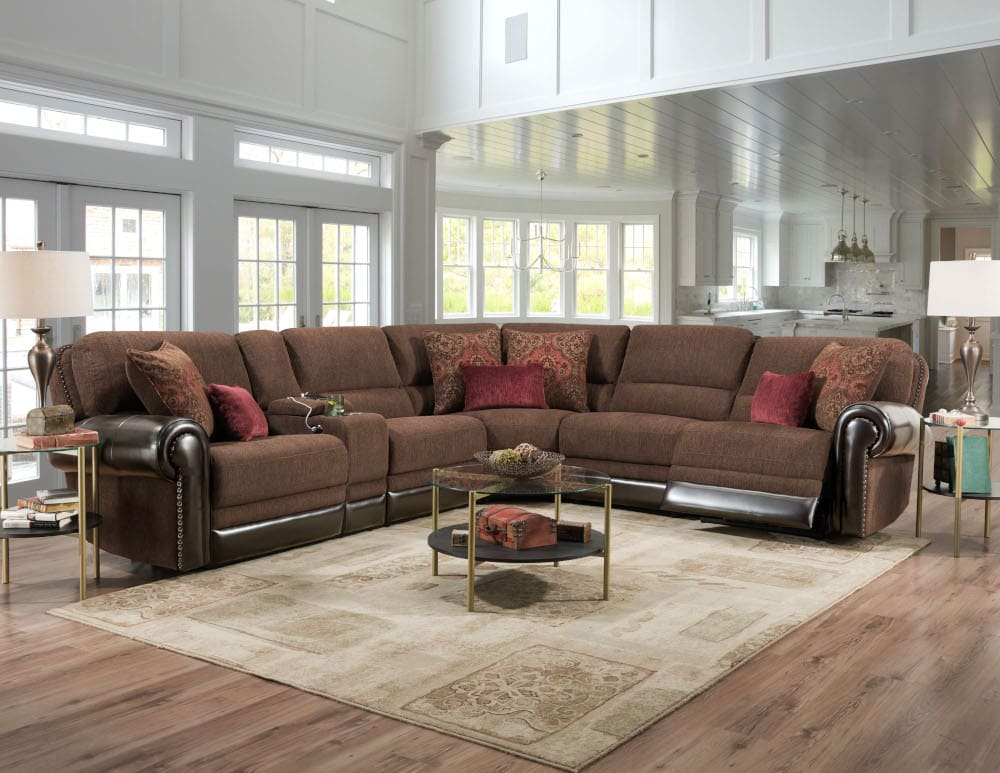 Castle Rock Reclining Sectional