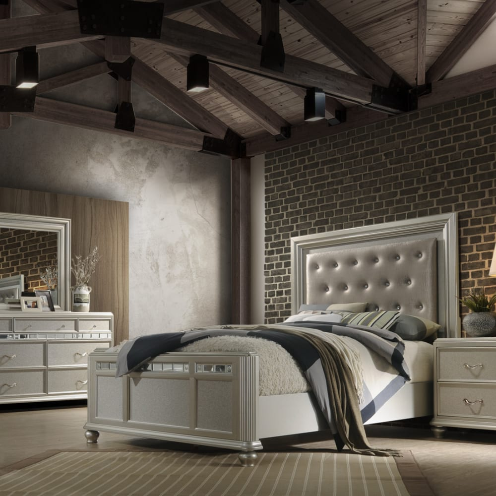Gia Collection 3pc Queen Bedroom Set