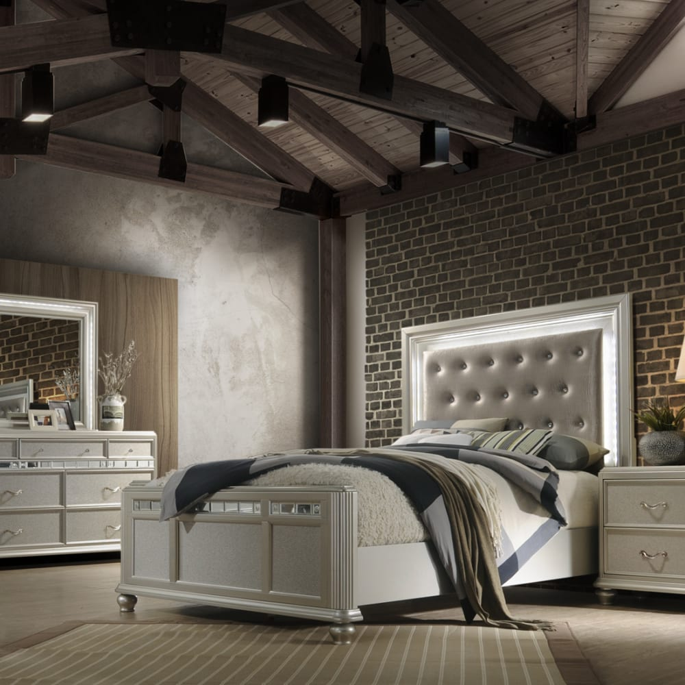 Gia Collection 3pc King Bedroom Set
