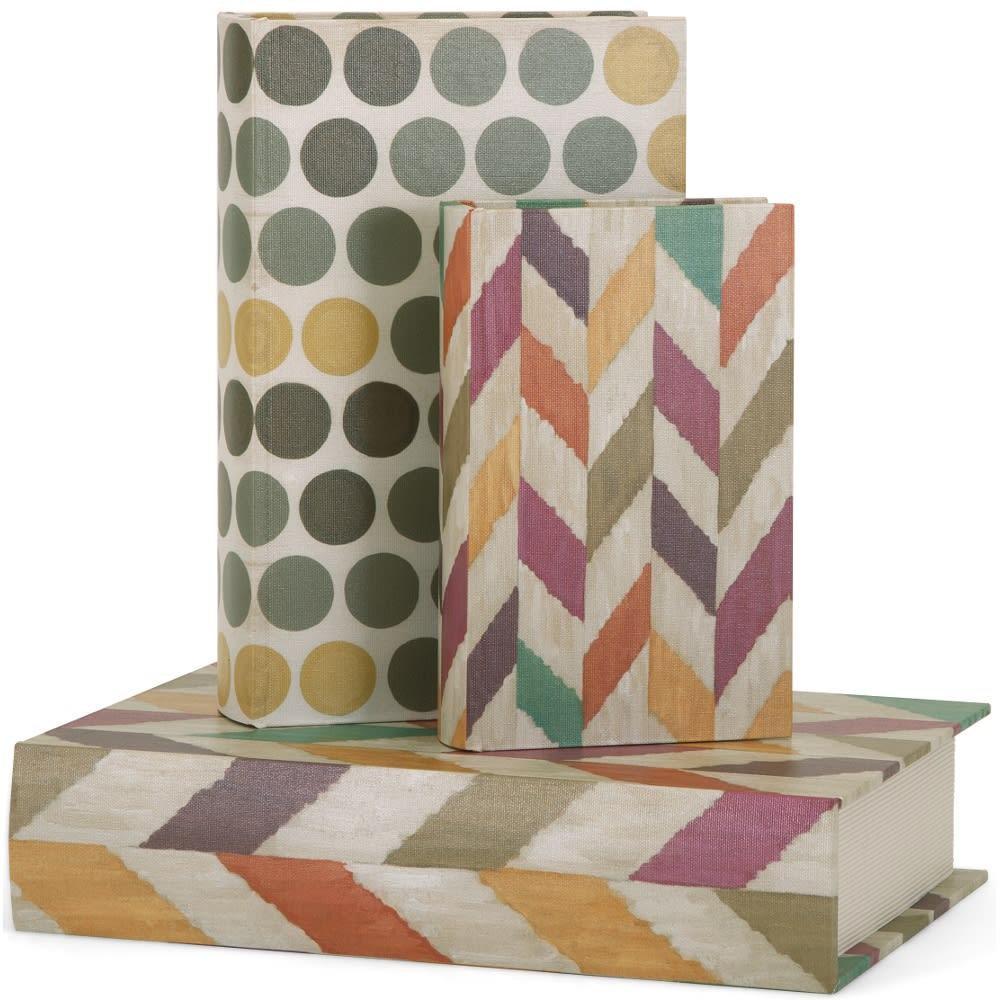 Confetti Book Boxes - Set of 3 - 99986