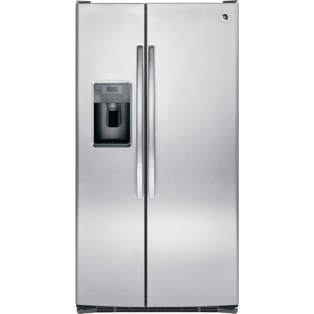 GE® 25.4 Cu. Ft. Side-by-Side Refrigerator (GSS25GSHSS)