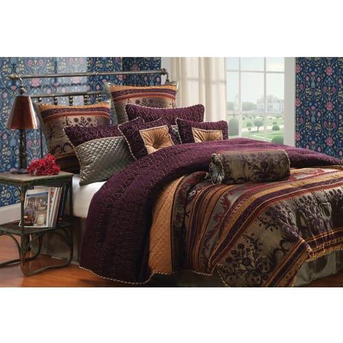 Andrews 10 Piece Comforter Set - King (80293)
