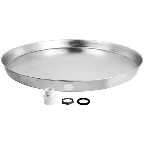 24 Inch Aluminum Water Heater Drain Pan