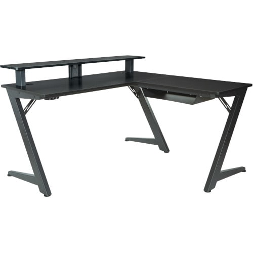 Apex Black Gaming Desk - AVA25BLK