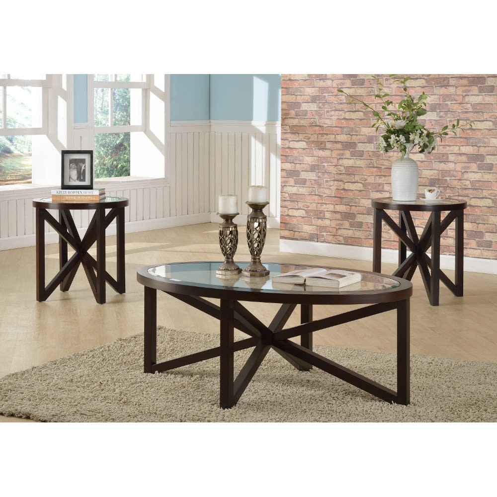 Ashford II Occasional Tables - Cocktail Table & 2 End Tables - 4249SET