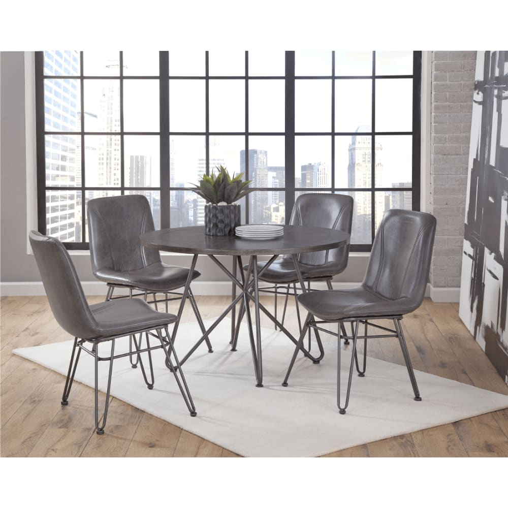 Ava Collection 5pc Dining Set