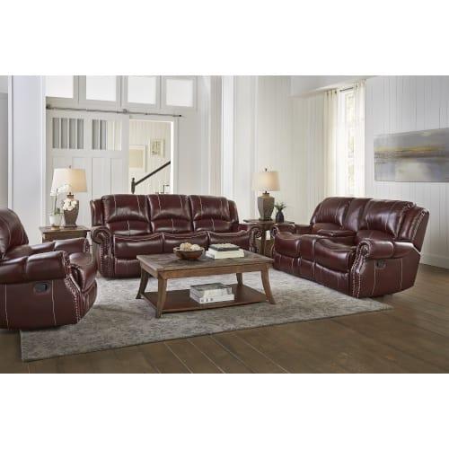 Avalon Living Room Reclining Sofa & Loveseat - AVALON2PCLR