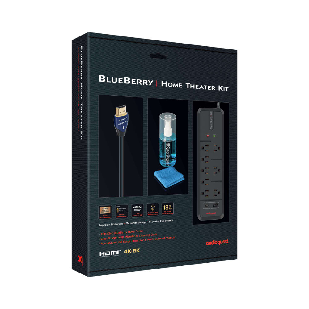 AudioQuest BlueBerry Home Theater Kit
