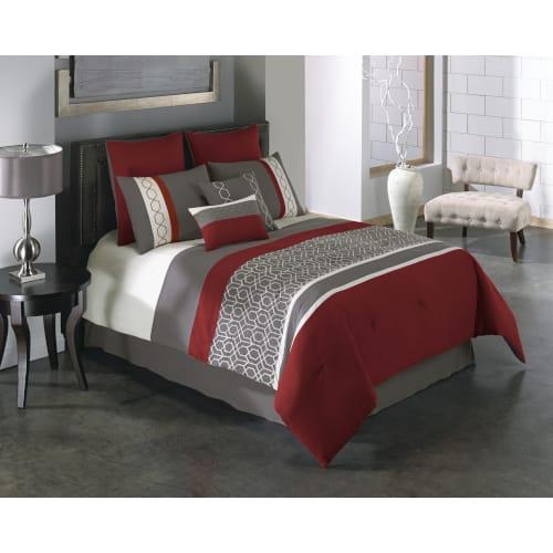 Callan 6 Piece Comforter Set - Queen