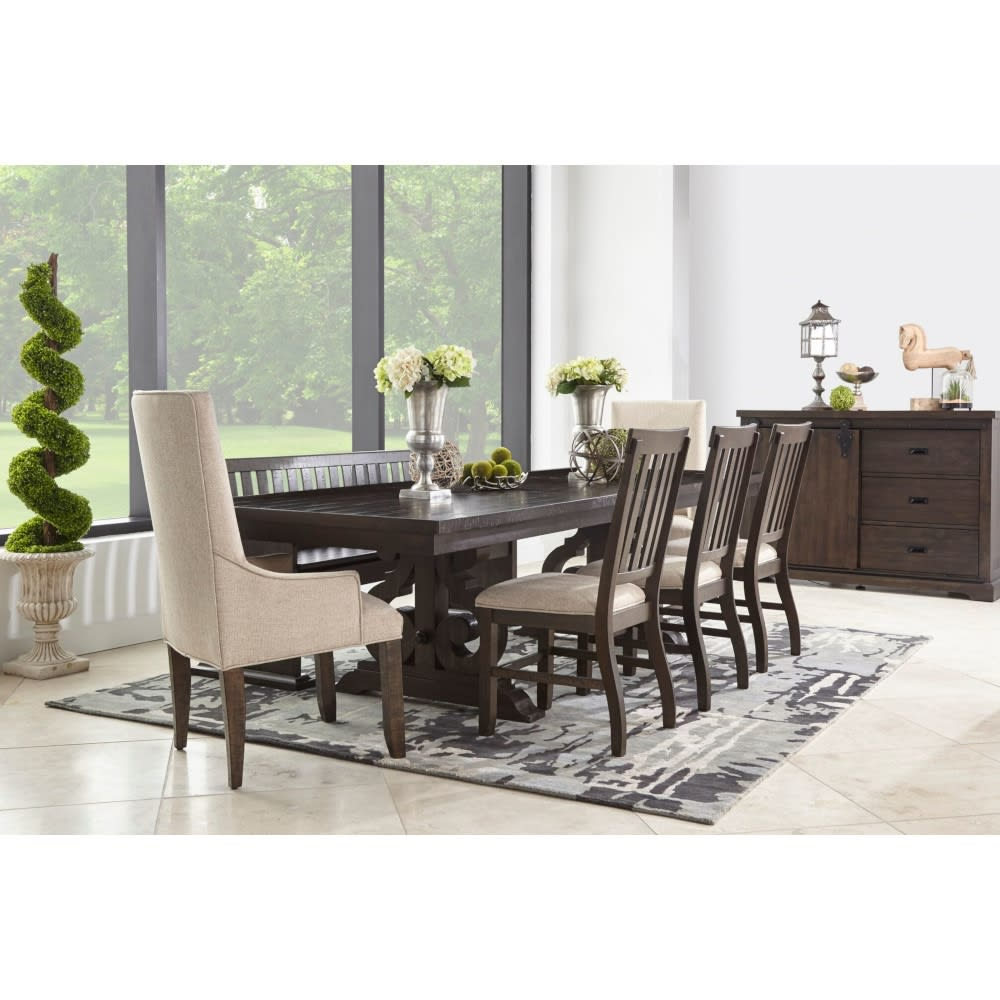 Calvary Dining - Dining Table & 4 Dining Chairs - CALVARYDR