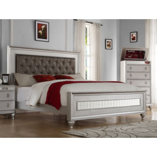 Carousel Queen Bed - CAROUSELBEDQN