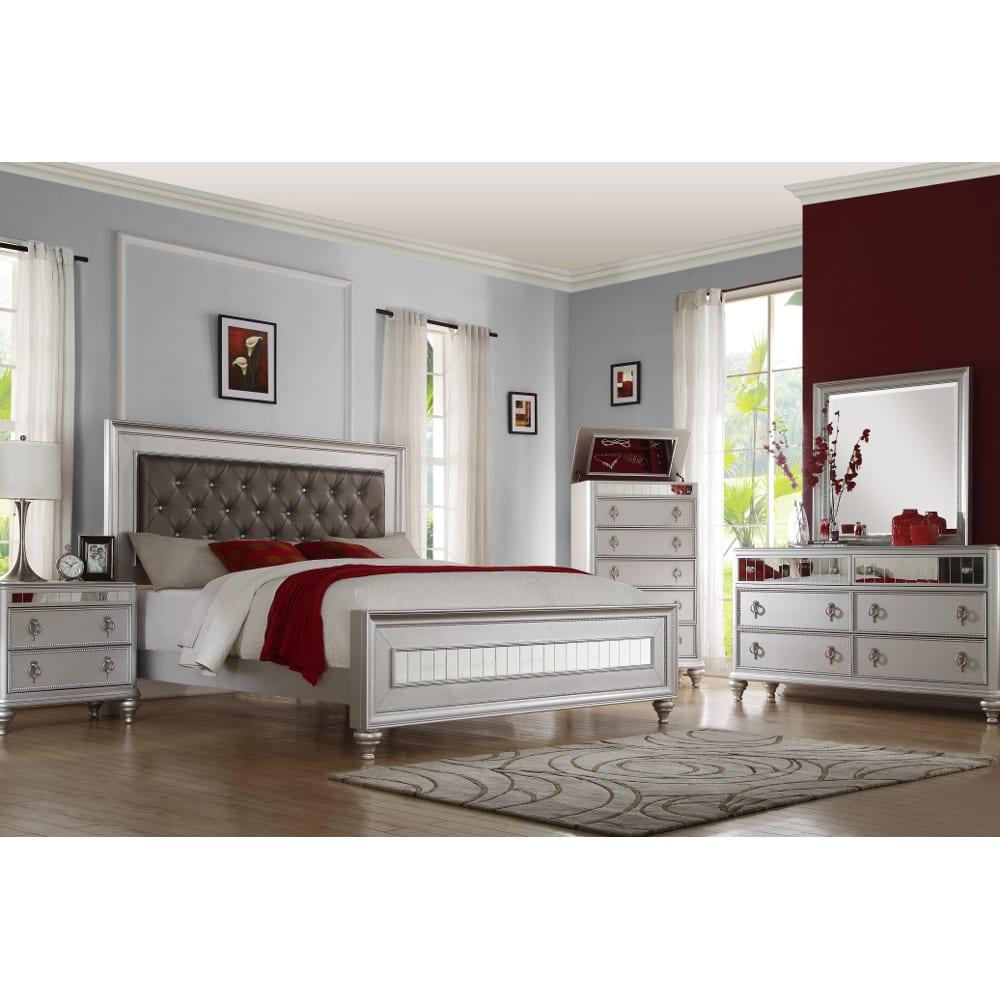Carousel Bedroom - King Bed, Dresser & Mirror - CAROUSEL3PCKG