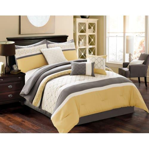 Conley 6 Piece Comforter Set - King (80296)