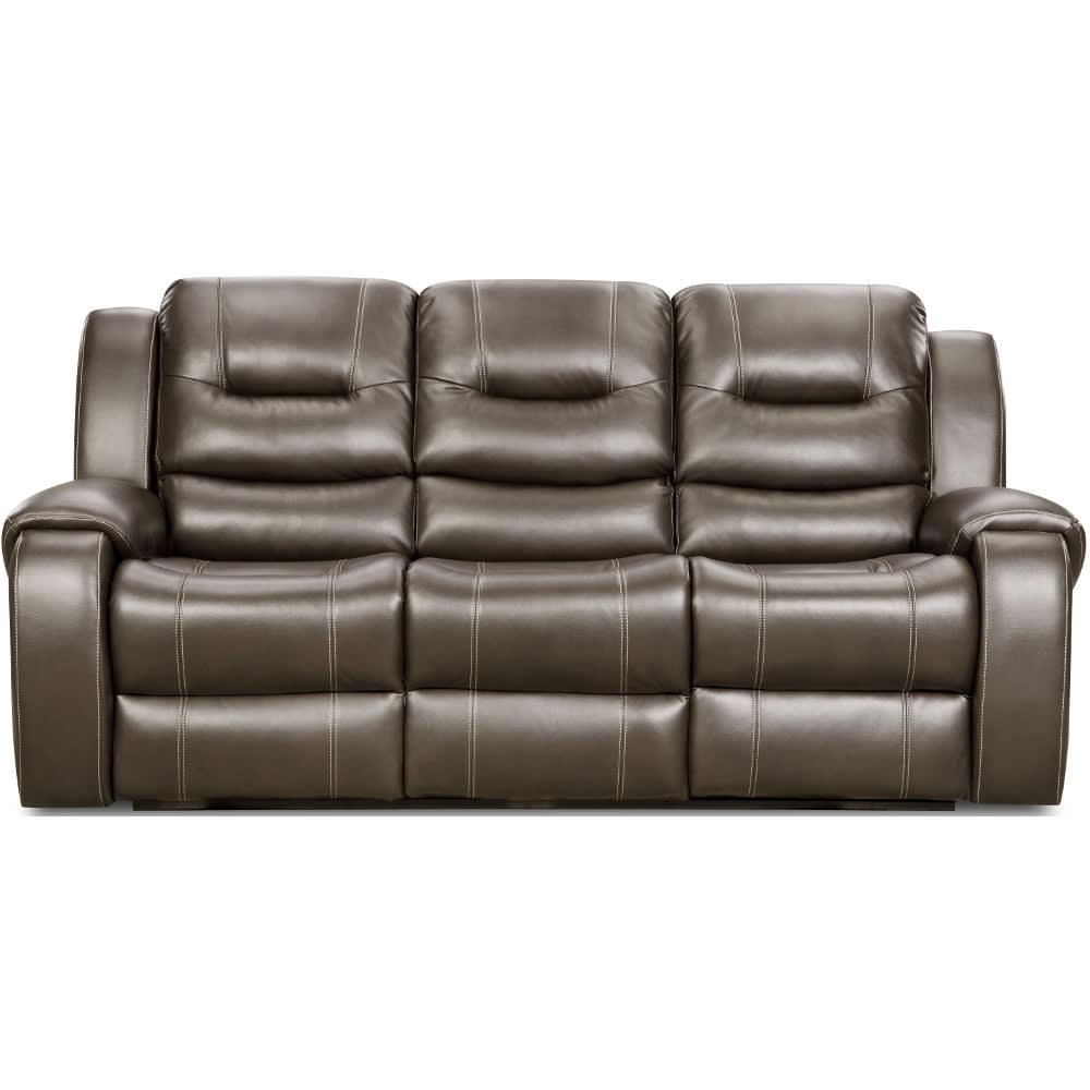 Titan Reclining Sofa - Steel - 7140730