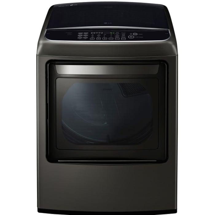 LG 7.3 Cu. Ft. Ultra Large Capacity Front Control Gas Dryer - DLGY1902KE
