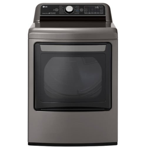 LG 7.3 Cu. Ft. smart Wi-Fi Enabled Gas Dryer with TurboSteam™