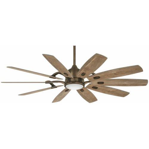 "Minka Aire 65"" Barn Ceiling Fan w/LED Light Heirloom Bronze"