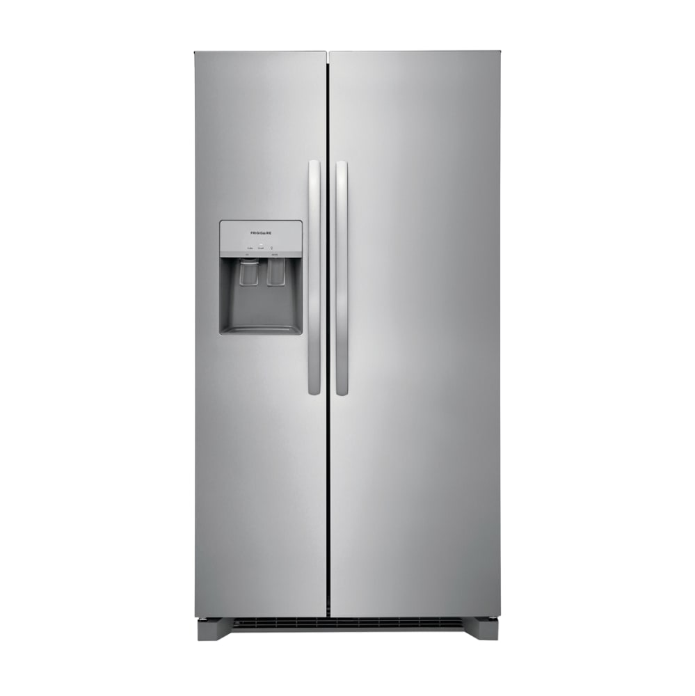 Frigidaire 25.6 Cu. Ft. 36'' Standard Depth Side by Side Refrigerator - FRSS2623AS