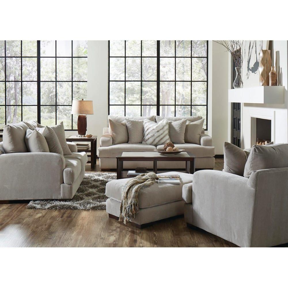 Gabrielle Living Room - Sofa & Loveseat - Cream - 334603