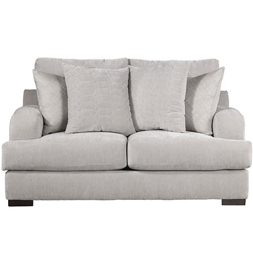 Gabrielle Cream Living Room Collection - Loveseat