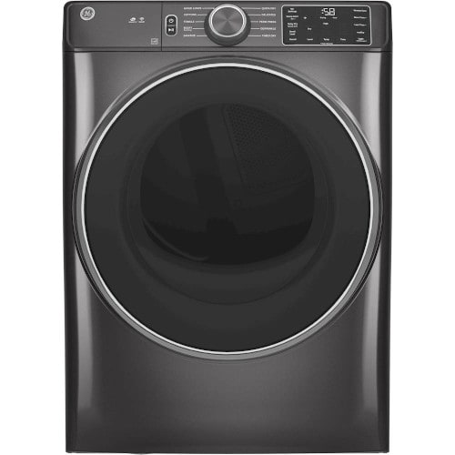GE® 7.8 cu. ft. Smart Front Load Electric Dryer with Sanitize Cycle