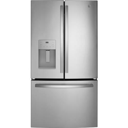 GE® ENERGY STAR® 25.6 Cu. Ft. Fingerprint Resistant French-Door Refrigerator - GFE26JYMFS