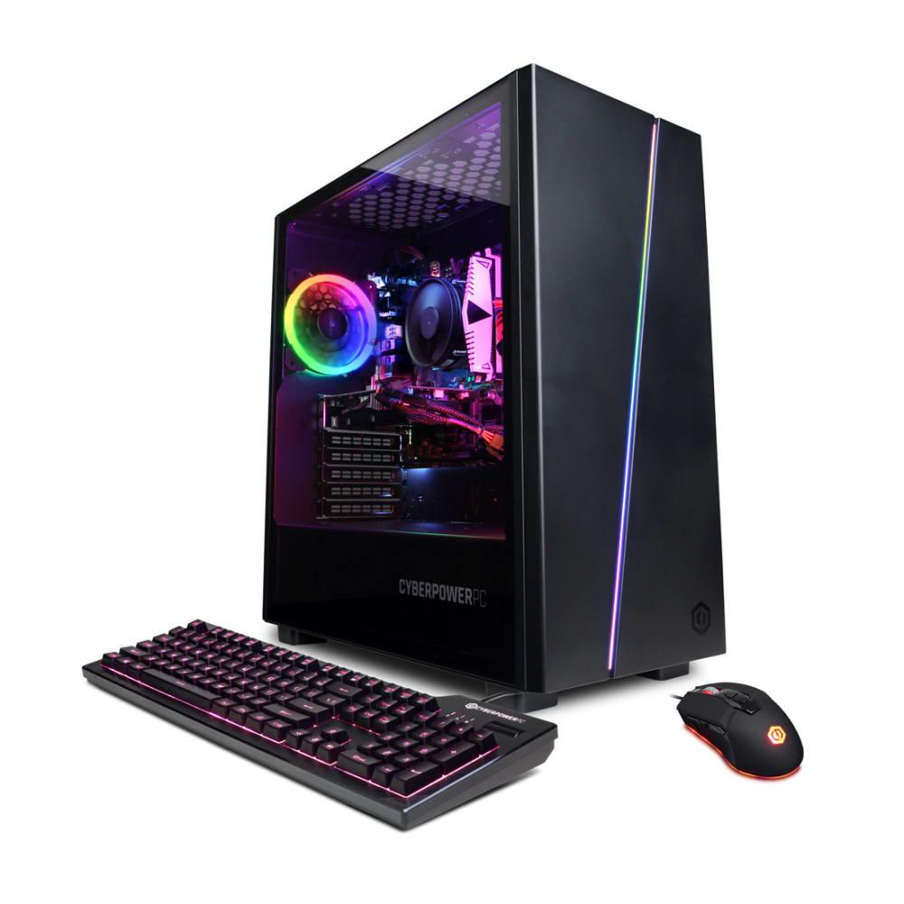CyberPowerPC Gamer Master Gaming Desktop - AMD Ryzen 7 3700X - 16GB Memory - NVIDIA GeForce RTX 3060 - 1TB HDD + 500GB SSD