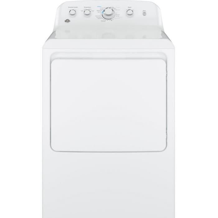 GE® 7.2 Cu. Ft. Capacity Aluminized Alloy Drum Electric Dryer - GTD42EASJWW