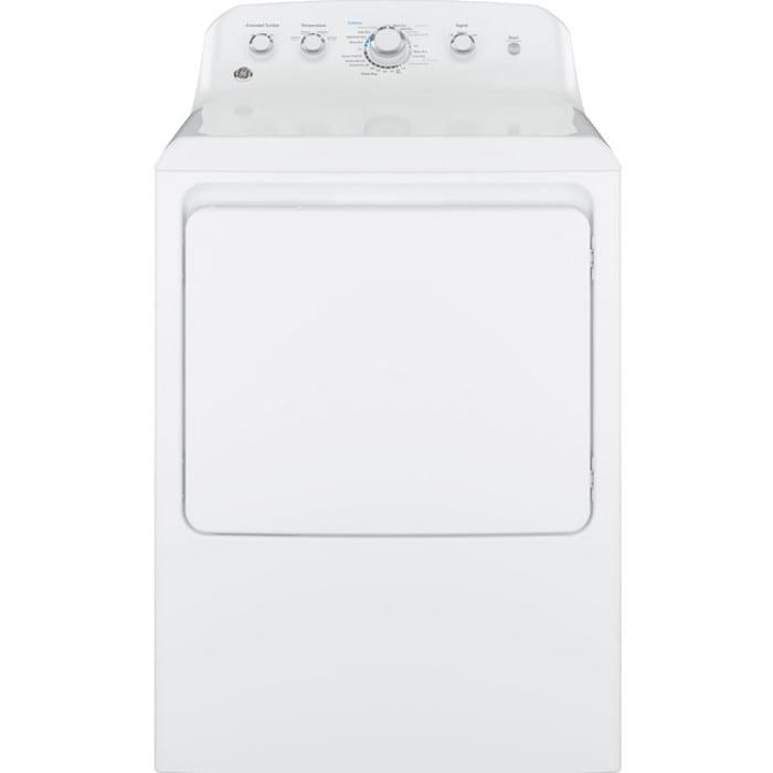 GE® 7.2 Cu. Ft. Capacity Aluminized Alloy Drum Gas Dryer (GTD42GASJWW)
