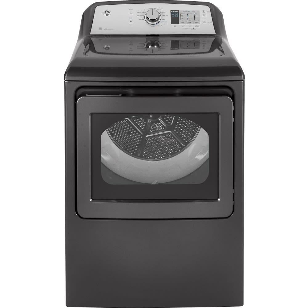 GE® 7.4 Cu. Ft. Capacity Aluminized Alloy Drum Gas Dryer - GTD65GBPLDG