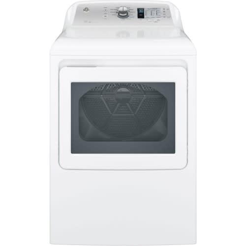 GE® 7.4 Cu. Ft. Capacity Aluminized Alloy Drum Gas Dryer - GTD65GBSJWS