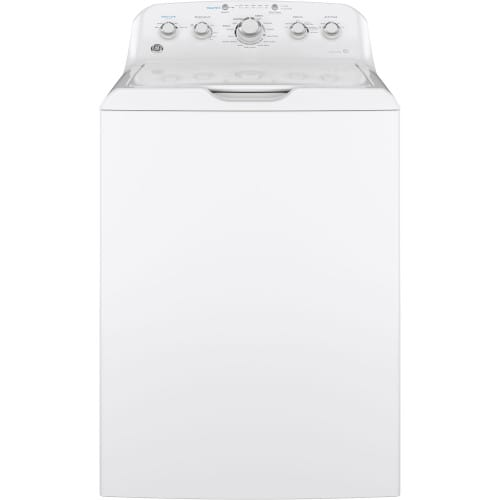 GE® 4.5 Cu. Ft. Capacity Washer with Stainless Steel Basket - GTW465ASNWW