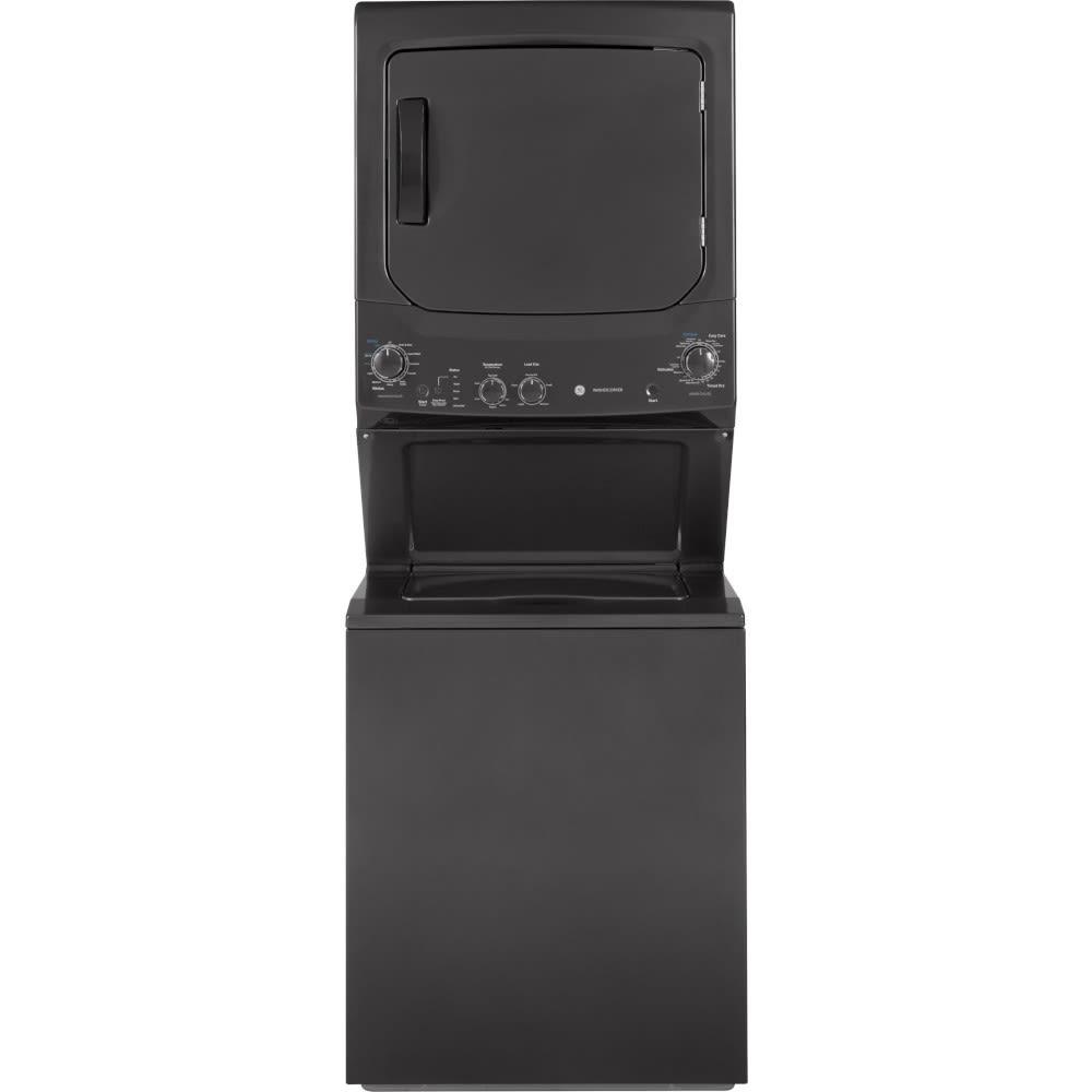 GE Unitized Spacemaker® 3.8 DOE Cu. Ft. Capacity Washer/ 5.9 Cu. Ft. Capacity Electric Dryer - GUD27ESPMDG