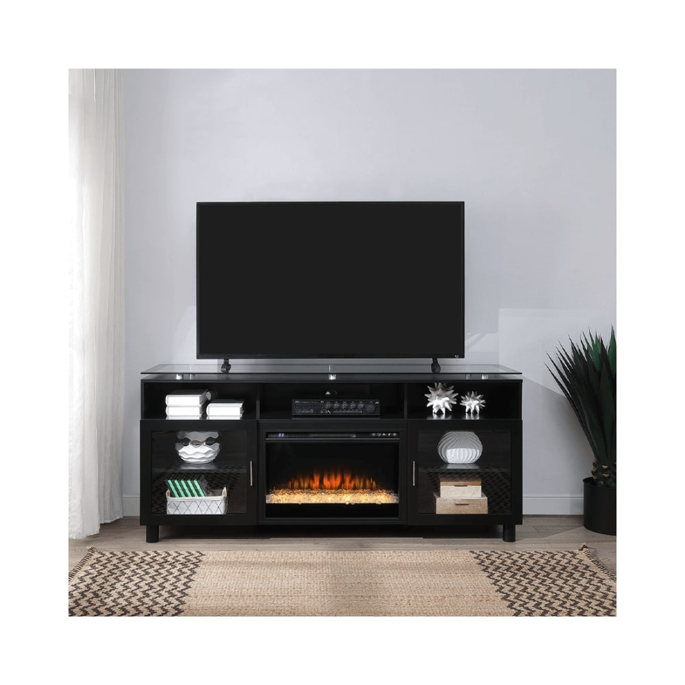 Harper Collection Fireplace TV Stand