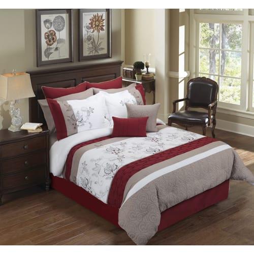 Hayes 6 Piece Comforter Set - Queen (80278)