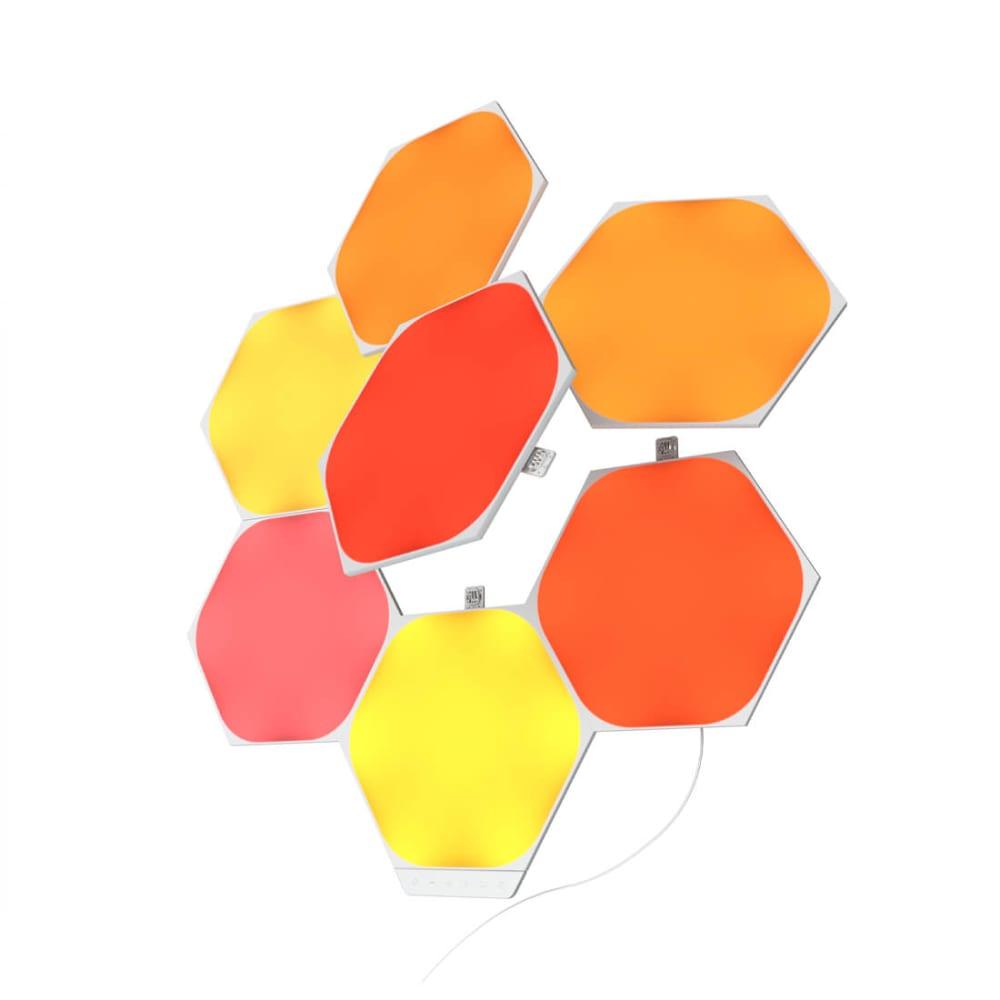 Nanoleaf Shapes - Hexagons- 7 Pc Smarter Kit - Modular Lighting