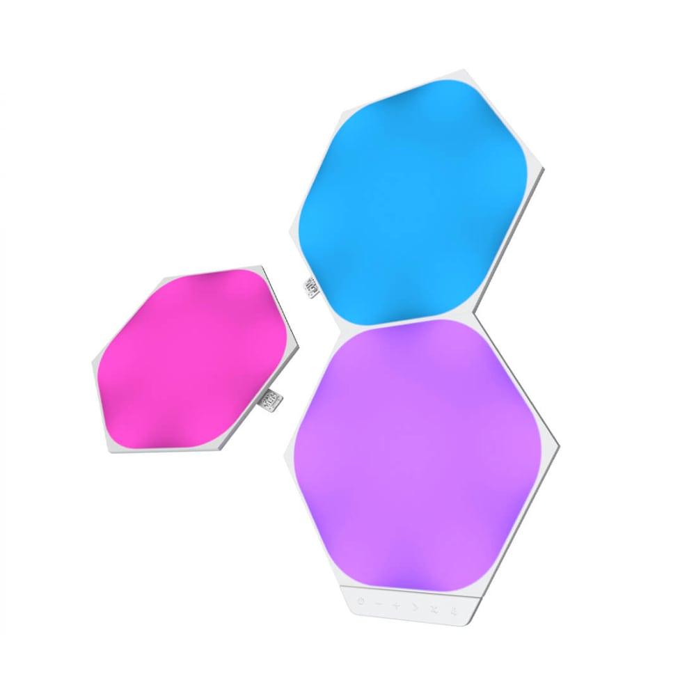 Nanoleaf Shapes - Hexagons - 3 Pc Expansion Pack - Modular Lighting
