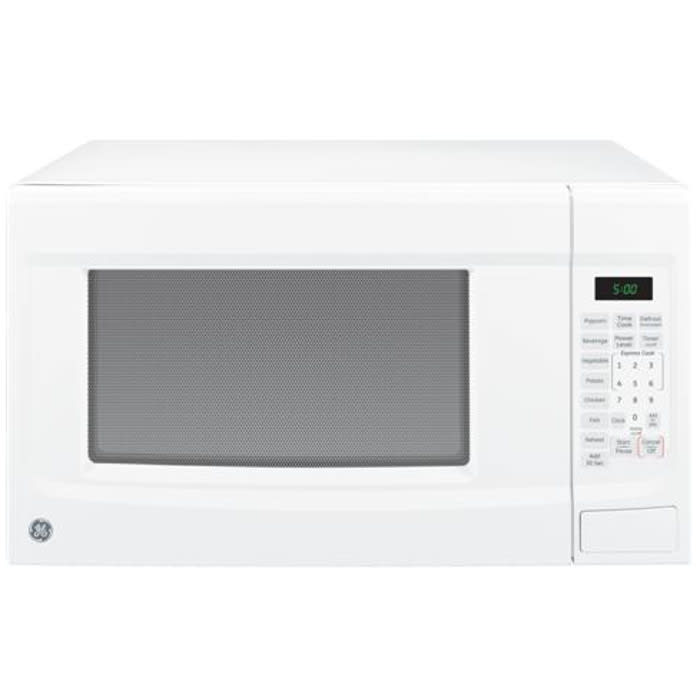 GE® 1.4 Cu. Ft. Countertop Microwave Oven (JES1460DSWW)